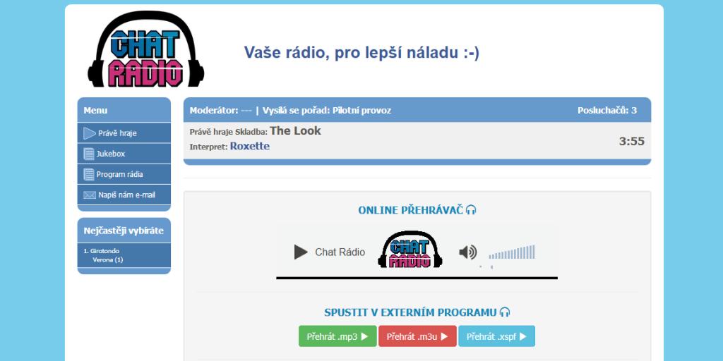 Chat Radio na SuperPokecu