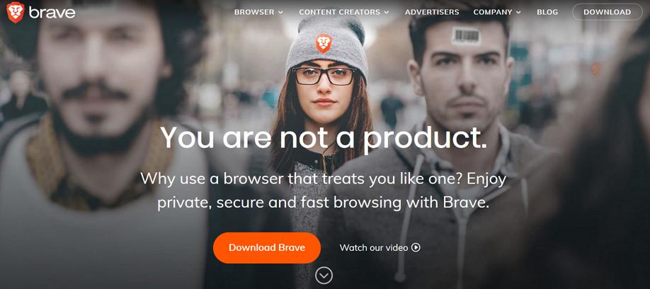 Prohlížeč Brave - Stažení