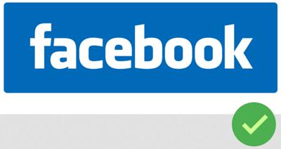 logo název Facebook