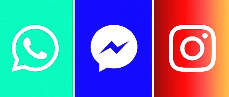 WhatsApp, Messenger, Instagram