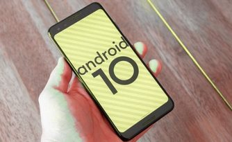 mobil s Android 10