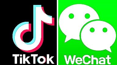 loga TikTok a WeChat