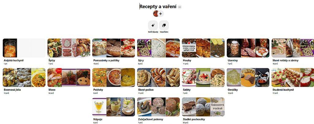Nástěnka AzaNovin na Pinterestu Recepty a vaření