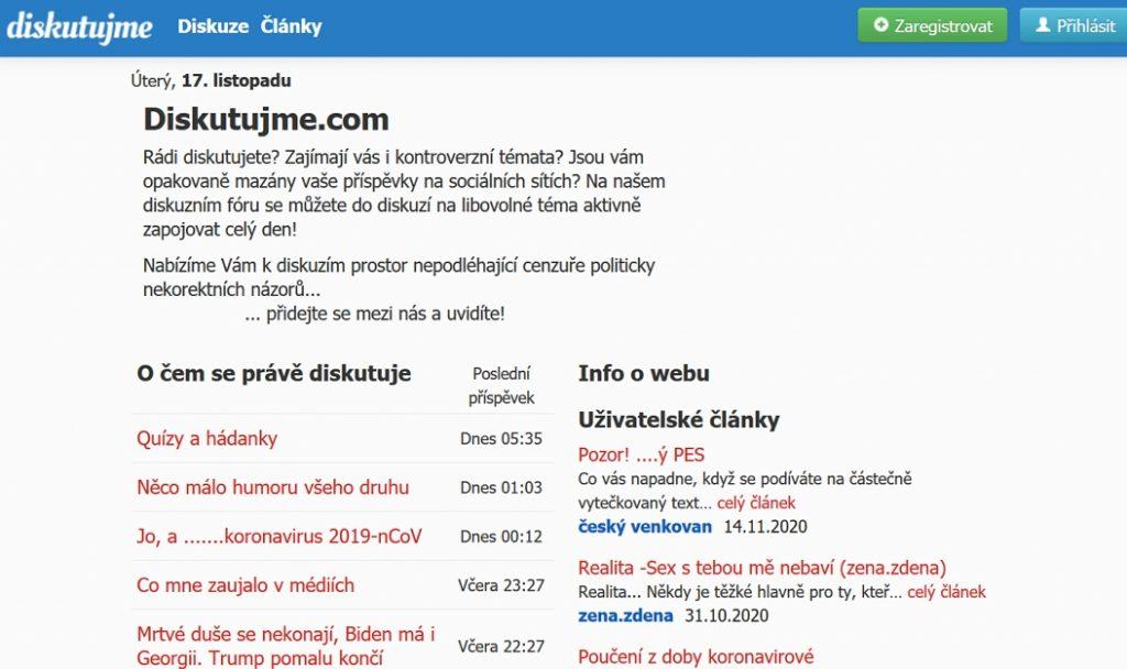 diskutujme.com diskuzní fórum