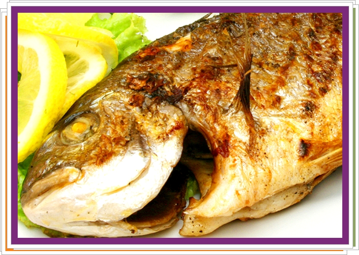 Ryba na citronech po řecku