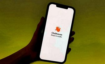 Clubhouse mobilní aplikace