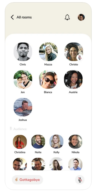 Clubhouse iPhone Screenshots