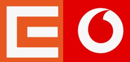 ČEZ Vodafone logo