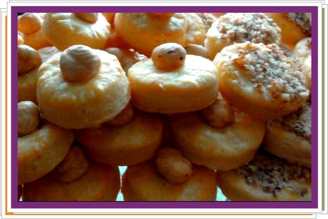 Sýrové koláčky s ořechem
