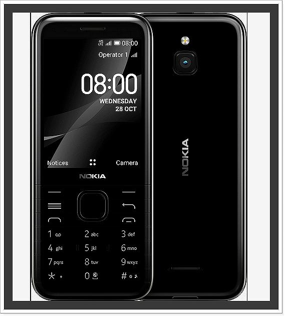 Nokia 8000 4G s operačním systémem KaiOS