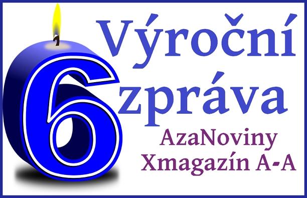 6. výročí projektu AzaNoviny