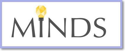 Minds logo - Sociální síť