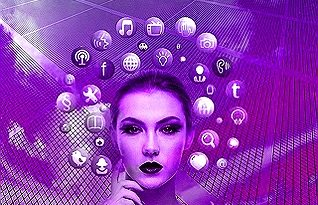 Sociální sítě Žena