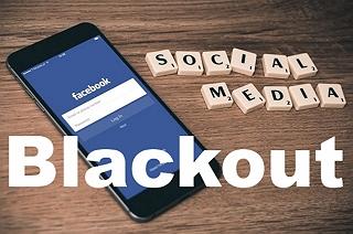 Facebook blackout. Výpadek sociální sítě Facebook.